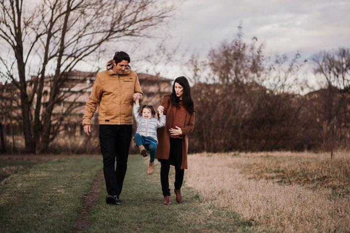 Eleonora, David e Matilda - Servizio fotografico di famiglia Modena